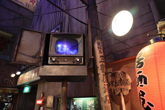 Photos: 街頭TV