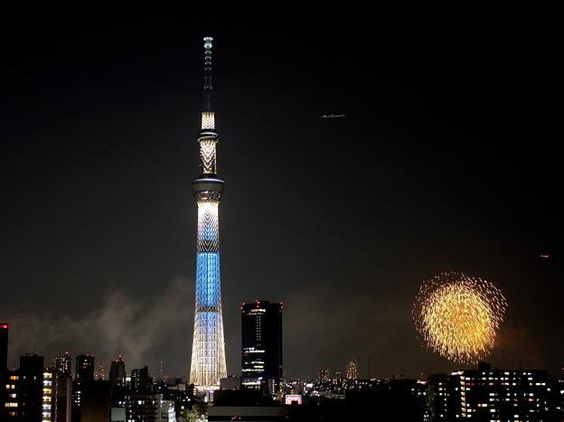 Photos: 開業年の花火