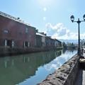 小樽運河の朝