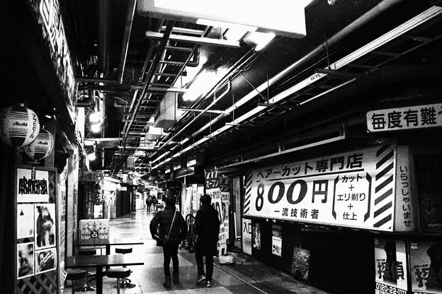 Photos: 最古の地下街