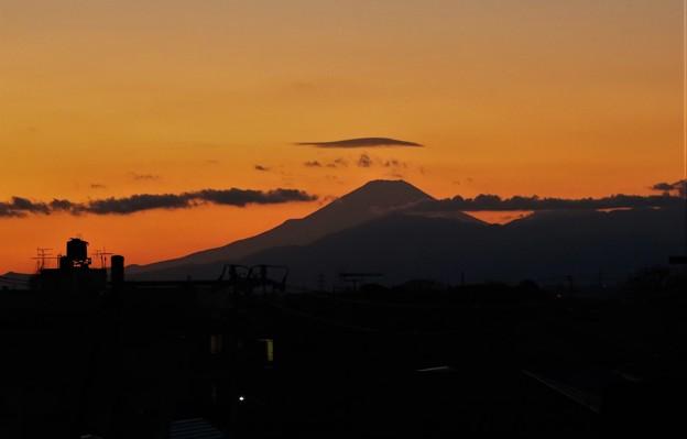 Photos: 富士夕焼け