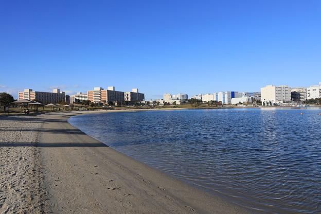 東京の砂浜