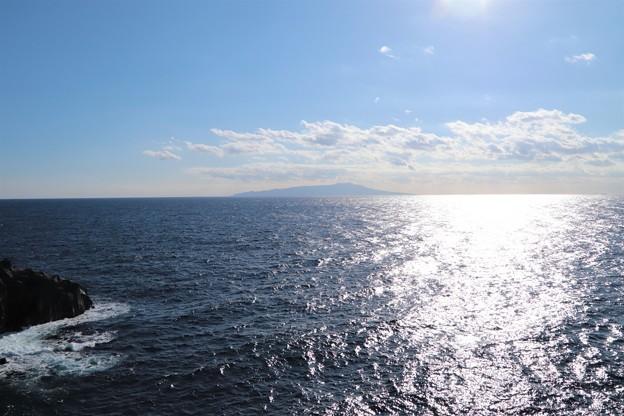 伊豆大島を臨む