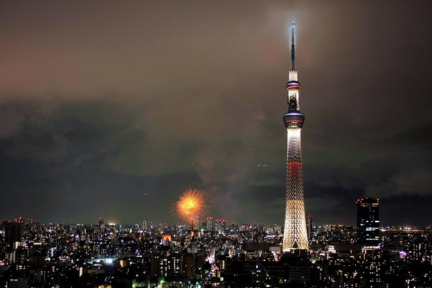 Photos: 隅田川花火