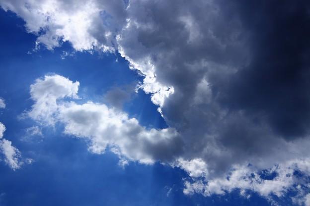 夏雲の隙間