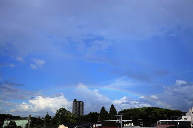Photos: 虹がかかって