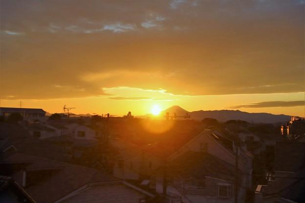 Photos: 秋の夕陽