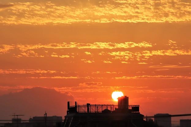 Photos: 台風後の夕焼け