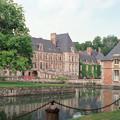 フランス クーランス城庭園