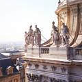 フランス ヴェルサイユ宮殿屋上の彫刻