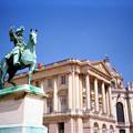 フランス ヴェルサイユ宮殿 ルイ14世像