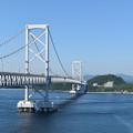 Photos: 鳴門海峡に架る大鳴門橋
