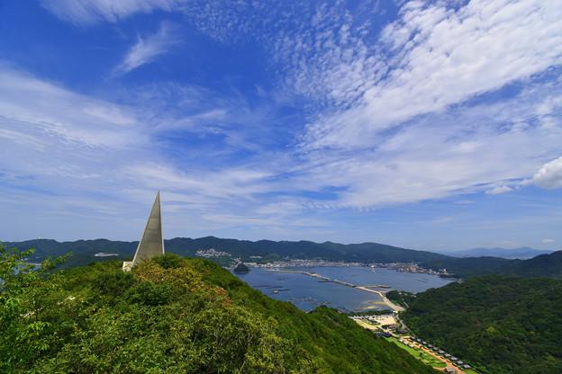 大見山からの景観