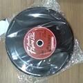 LPレコードジャケットのフリスビー。