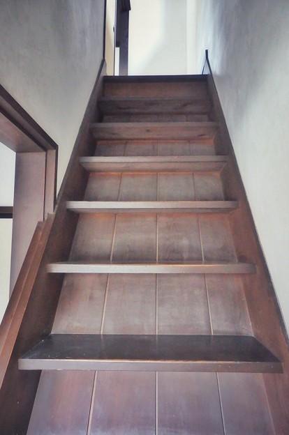 懐かしい階段