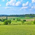 三愛の丘にて