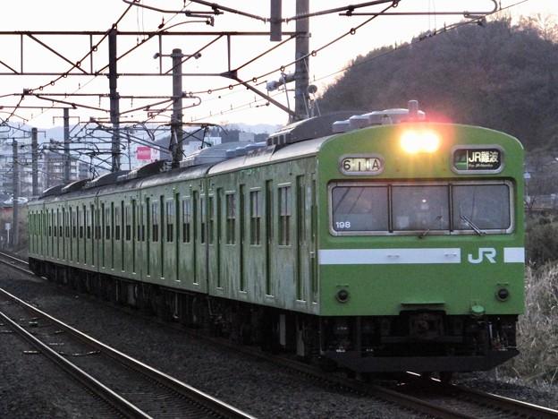 JR西日本103系 NS617編成