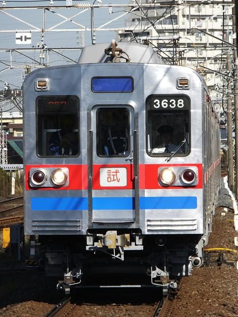 京成3600形 3638編成 検査後試運転
