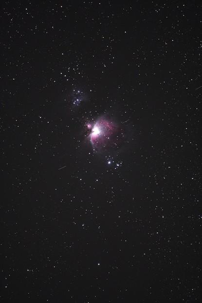 M42と人工衛星(その2)