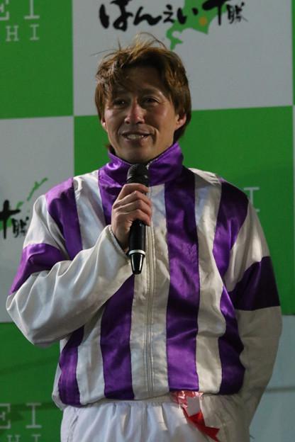 阿部 武臣 騎手(18/01/21・第28回 ヒロインズカップ)