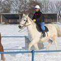 Photos: 十勝牧場 雪中運動_4(18/01/22)