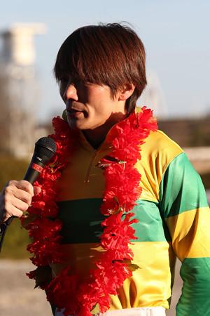 佐藤 友則 騎手(17/12/30・第21回 ライデンリーダー記念)