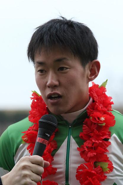友森 翔太郎 騎手(17/12/31・第46回 東海ゴールドカップ)