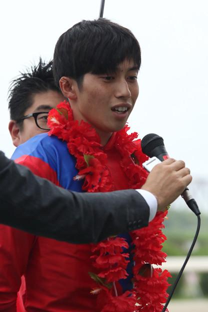 加藤 聡一 騎手(17/08/15・第46回 くろゆり賞)