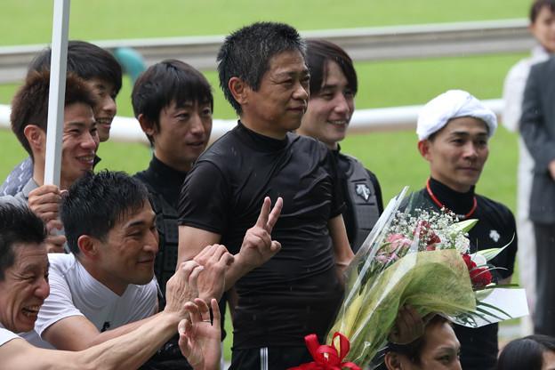林 満明 騎手 引退セレモニー_5(18/06/23・第20回 東京ジャンプステークス)