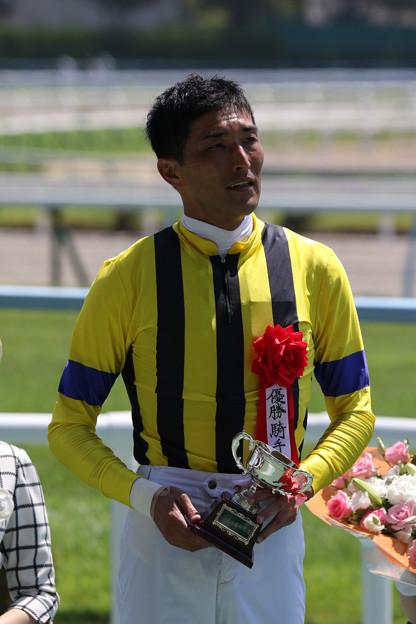 西谷 誠 騎手(18/07/28・第20回 小倉サマージャンプ)