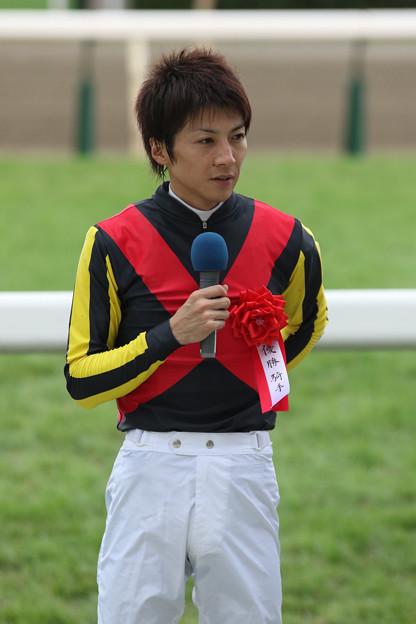 石橋 脩 騎手(18/08/26・第38回 新潟2歳ステークス)