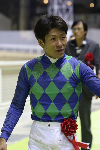森 泰斗 騎手(18/09/12・第47回 戸塚記念)