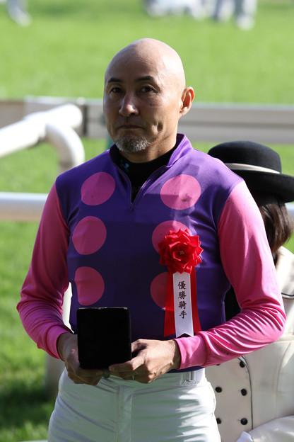 北沢 伸也 騎手(18/10/14・第20回 東京ハイジャンプ)