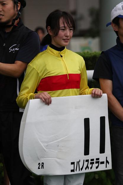 藤田 菜七子 騎手(18/07/07・2R)