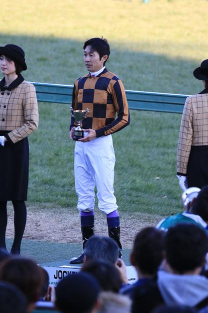 武 豊 騎手(19/01/05・カーバンクルステークス)