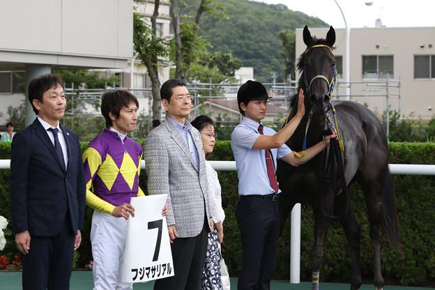 フジマサリアル 口取り(19/07/06・新馬戦)