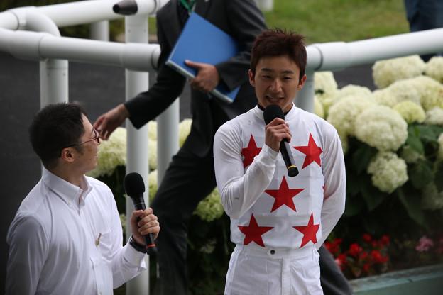 菊沢 一樹 騎手(19/07/07・第55回 七夕賞)