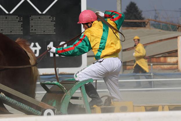 松本 秀克 騎手(19/03/02・2R)