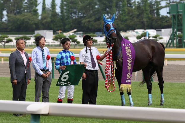 第21回 新潟ジャンプステークス 口取り(19/08/24)