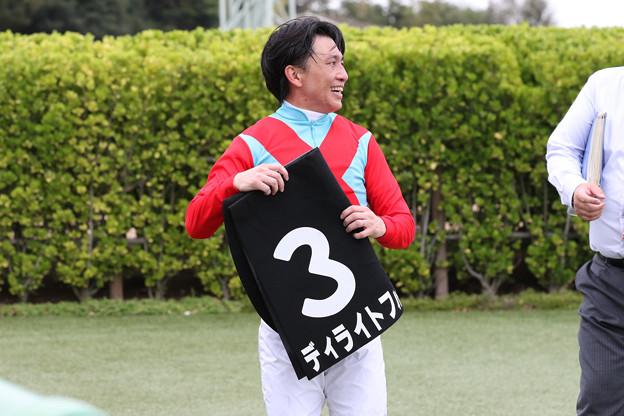 白浜 雄造 騎手(19/09/21・清秋ジャンプステークス)