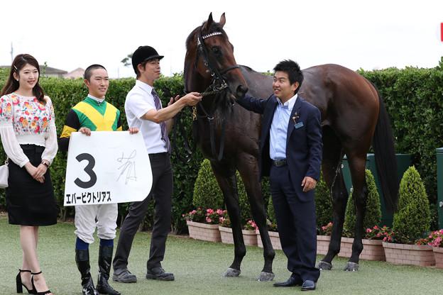 エバービクトリアス 口取り(19/09/21・新馬戦)