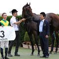 Photos: エバービクトリアス 口取り(19/09/21・新馬戦)