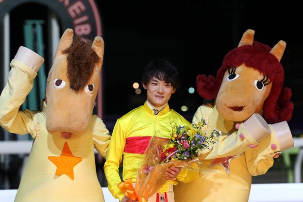 笹川 翼 騎手(19/10/16・東京スポーツ盃 第26回 マイルグランプリ)