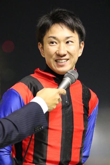 吉原 寛人 騎手(19/10/30・第65回 平和賞)