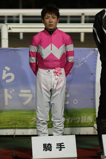 岡部 誠 騎手(19/11/07・第62回 道営記念)