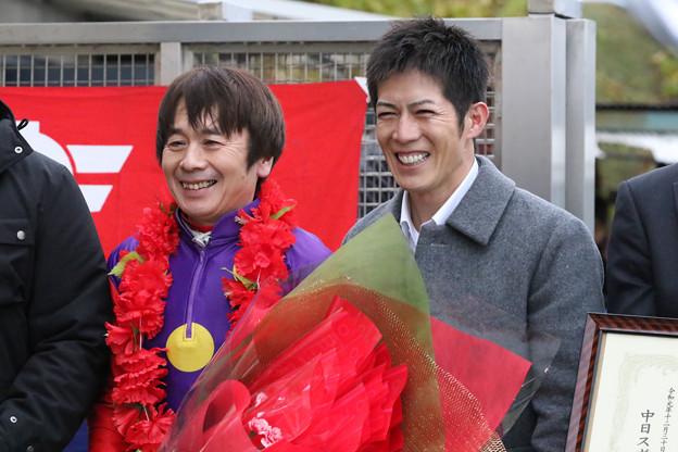 向山騎手と柴山騎手_1(19/12/30・第23回 ライデンリーダー記念)