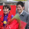Photos: 向山騎手と柴山騎手_1(19/12/30・第23回 ライデンリーダー記念)