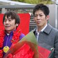 Photos: 向山騎手と柴山騎手_2(19/12/30・第23回 ライデンリーダー記念)