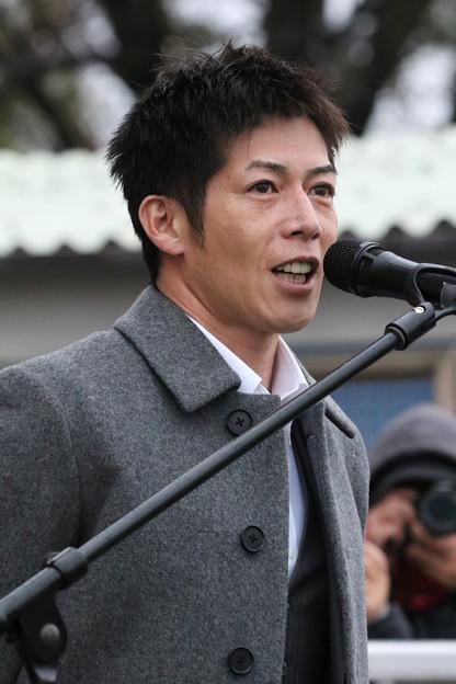 柴山 雄一 騎手(19/12/30・第23回 ライデンリーダー記念)