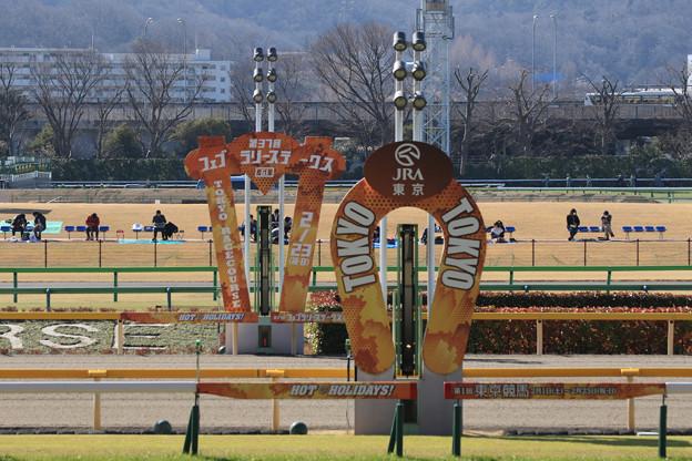 東京競馬場 ゴール板(20/02/23)